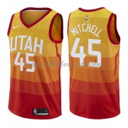 Camisetas Baloncesto NBA Utah Jazz 2018  Donovan Mitchell 45# City Edition..