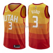 Camisetas Baloncesto NBA Utah Jazz 2018  Ricky Rubio 3# City Edition..