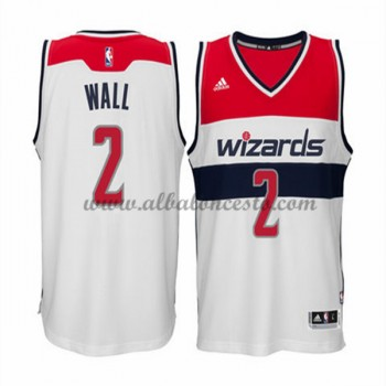 Camisetas Baloncesto NBA Washington Wizards 2015-16 John Wall 2# Home