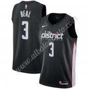 Camisetas Baloncesto NBA Washington Wizards 2019-20 Bradley Beal 3# Negro City Edition Swingman..