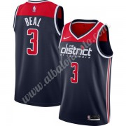 Camisetas Baloncesto NBA Washington Wizards 2019-20 Bradley Beal 3# Armada Finished Statement Editio..