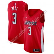 Camisetas Baloncesto NBA Washington Wizards 2019-20 Bradley Beal 3# Rojo Earned Edition Swingman..
