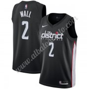 Camisetas Baloncesto NBA Washington Wizards 2019-20 John Wall 2# Negro City Edition Swingman..