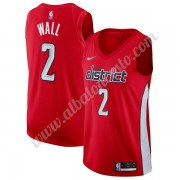 Camisetas Baloncesto NBA Washington Wizards 2019-20 John Wall 2# Rojo Earned Edition Swingman..
