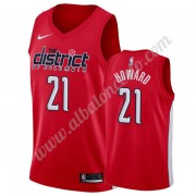 Camisetas Baloncesto NBA Washington Wizards 2019-20 Dwight Howard 21# Rojo Earned Edition Swingman..