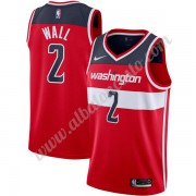 Camisetas Baloncesto NBA Washington Wizards 2019-20 John Wall 2# Rojo Icon Edition Swingman..