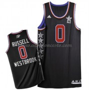 West All Star Game 2015 Russell Westbrook 0# NBA Equipaciones Baloncesto..