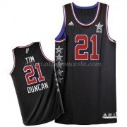 West All Star Game 2015 Tim Duncan 21# NBA Equipaciones Baloncesto..