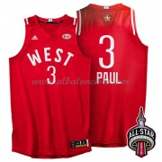 West All Star Game 2016 Chris Paul 3# NBA Equipaciones Baloncesto..