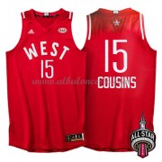 West All Star Game 2016 Demarcus Cousins 15# NBA Equipaciones Baloncesto..