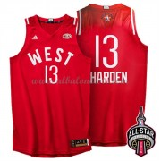 West All Star Game 2016 James Harden 13# NBA Equipaciones Baloncesto..