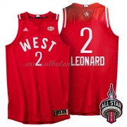West All Star Game 2016 Kawhi Leonard 2# NBA Equipaciones Baloncesto..