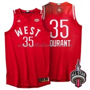 West All Star Game 2016 Kevin Durant 35# NBA Equipaciones Baloncesto..