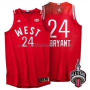 West All Star Game 2016 Kobe Bryant 24# NBA Equipaciones Baloncesto..