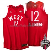 West All Star Game 2016 Lamarcus Aldridge 12# NBA Equipaciones Baloncesto..