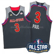 West All Star Game 2017 Chris Paul 3# NBA Equipaciones Baloncesto..