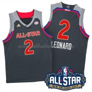 West All Star Game 2017 Kawhi Leonard 2# NBA Equipaciones Baloncesto..