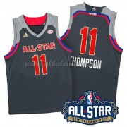 West All Star Game 2017 Klay Thompson 11# NBA Equipaciones Baloncesto..
