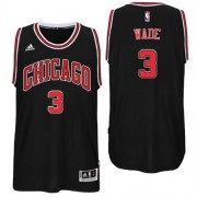 Camisetas Baloncesto NBA Chicago Bulls 2017-18 Dwyane Wade 3# Alternate..