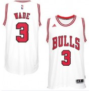 Camisetas Baloncesto NBA Chicago Bulls 2017-18 Dwyane Wade 3# Home..