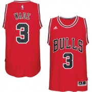 Camisetas Baloncesto NBA Chicago Bulls 2017-18 Dwyane Wade 3# Road..