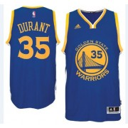 Camisetas Baloncesto NBA Golden State Warriors 2015-16 Kevin Durant 35# Road..