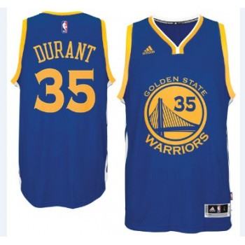 Camisetas Baloncesto NBA Golden State Warriors 2015-16 Kevin Durant 35# Road