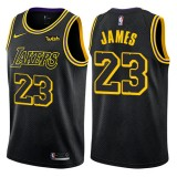Camisetas Baloncesto NBA Los Angeles Lakers 2018 LeBron James 23# City Edition