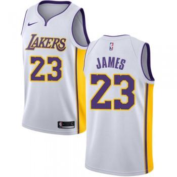 Camisetas Baloncesto NBA Los Angeles Lakers 2018 LeBron James 23# Association Edition