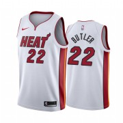 Camisetas NBA Niños Miami Heat 2019-20 Jimmy Butler 22# Blanco Association Edition Swingman..