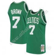Camisetas NBA Niños Boston Celtics 1985-86 Dee Brown 7# Verde Hardwood Classics Swingman..
