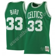 Camisetas NBA Niños Boston Celtics 1985-86 Larry Bird 33# Verde Hardwood Classics Swingman..