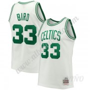 Camisetas NBA Niños Boston Celtics 1985-86 Larry Bird 33# Blanco Hardwood Classics Swingman..