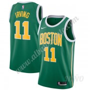 Camisetas NBA Niños Boston Celtics 2019-20 Kyrie Irving 11# Verde Earned Edition Swingman..