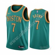 Camisetas NBA Niños Boston Celtics 2019-20 Jaylen Brown 7# Verde City Edition Swingman..