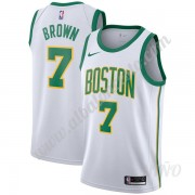 Camisetas NBA Niños Boston Celtics 2019-20 Jaylen Brown 7# Blanco City Edition Swingman..