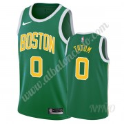 Camisetas NBA Niños Boston Celtics 2019-20 Jayson Tatum 0# Verde Earned Edition Swingman..