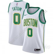 Camisetas NBA Niños Boston Celtics 2019-20 Jayson Tatum 0# Blanco City Edition Swingman..