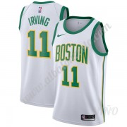 Camisetas NBA Niños Boston Celtics 2019-20 Kyrie Irving 11# Blanco City Edition Swingman..