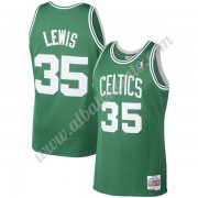 Camisetas Baloncesto NBA Boston Celtics 1987-88 Reggie Lewis 35# Verde Hardwood Classics Swingman..