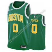 Camisetas Baloncesto NBA Boston Celtics 2019-20 Jayson Tatum 0# Verde Earned Edition Swingman..