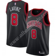 Camisetas Baloncesto NBA Chicago Bulls 2019-20 Zach Lavine 8# Negro Finished Statement Edition Swing..