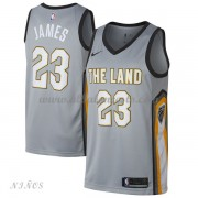 Camisetas Baloncesto Niños Cleveland Cavaliers 2018 LeBron James 23# City Edition..