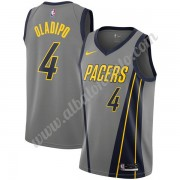 Camisetas Baloncesto NBA Indiana Pacers 2019-20 Victor Oladipo 4# Gris City Edition Swingman..