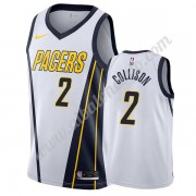Camisetas Baloncesto NBA Indiana Pacers 2019-20 Darren Collison 2# Blanco Earned Edition Swingman..