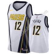 Camisetas Baloncesto NBA Indiana Pacers 2019-20 Tyreke Evans 12# Blanco Earned Edition Swingman..
