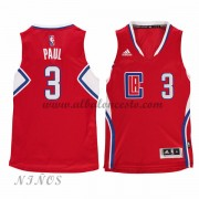 Camisetas NBA Baratas Los Angeles Clippers Niños 2015-16 Chris Paul 3# Road..