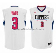 Camisetas NBA Baratas Los Angeles Clippers 2015-16 Chris Paul 3# Home..