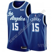 Camisetas NBA Niños Los Angeles Lakers 2019-20 DeMarcus Cousins 15# Azul Classics Edition Swingman..