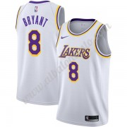 Camisetas Baloncesto NBA Los Angeles Lakers 2019-20 Kobe Bryant 8# Blanco Association Edition Swingm..